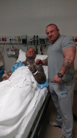 Ли Прист (Lee Priest) прооперирован