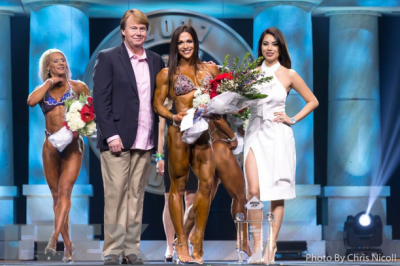 Oksana Grishina - 2017 Fitness International Champion