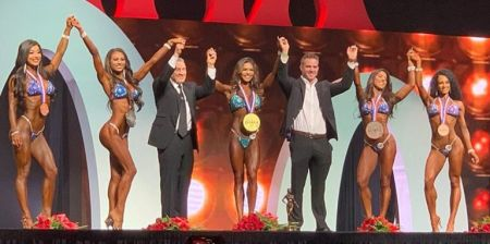 Бикини Олимпия 2019 года, результаты и призовые деньги
