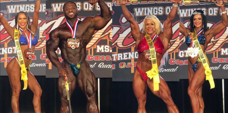 IFBB Wings of Strength Chicago Pro 2019 результаты